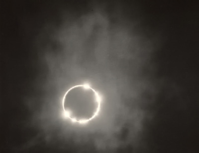 Happy Friday Everyone. Love this photograph by Ansel Adams.  ckck:  Eclipse, California, circa 1924. Photograph by Ansel Adams.