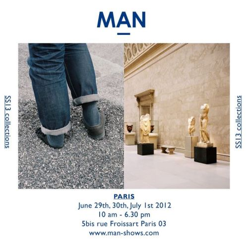 Looking forward to spending an afternoon at the MAN show in Paris later this summer.