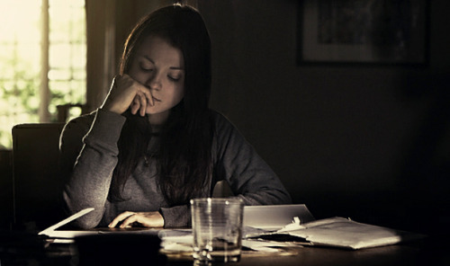 Kathryn Prescott, on the set of Counting Backwards