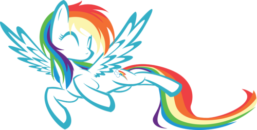 thisisnudge:  Rainbow Dash by *UP1TER