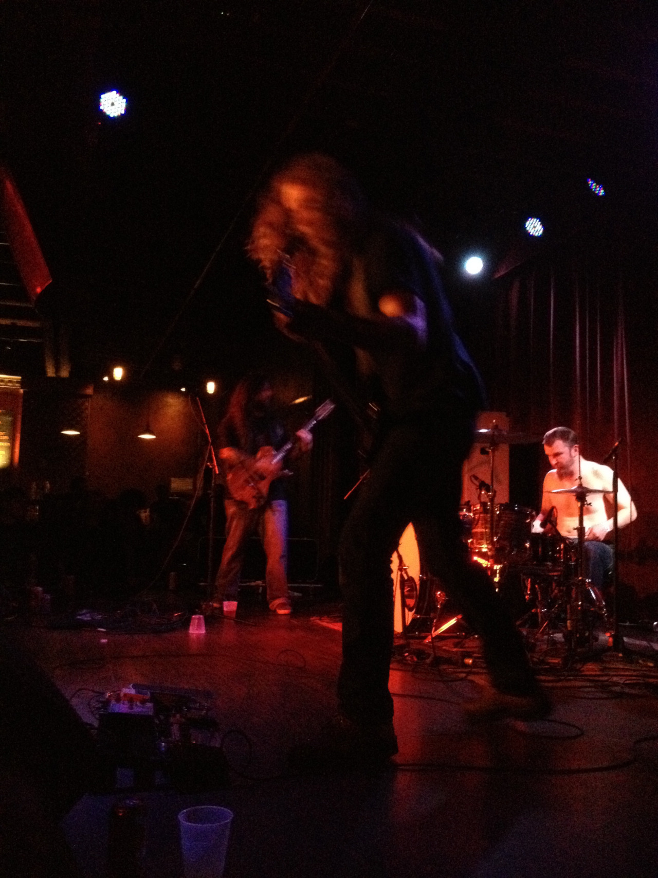 I saw YOB last night at the Bell House and it was incredible. It wasn't a huge crowd, which made for an intimate audience. I didn't get a chance to stay for the whole set, but I walked away with their live at Roadburn LP. Great vocals, excellent musicianship, and an awesome crowd. A+.