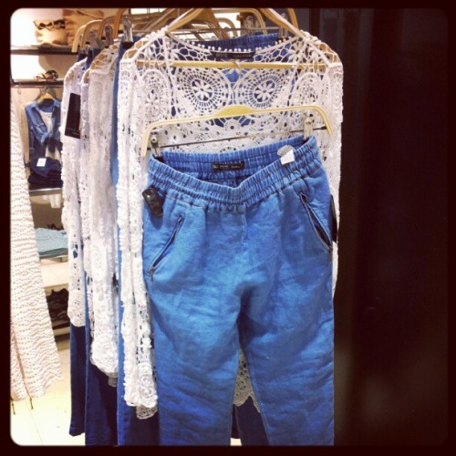 #lace at #Zara.. #summer #fashion in #Dubai (Taken with instagram)