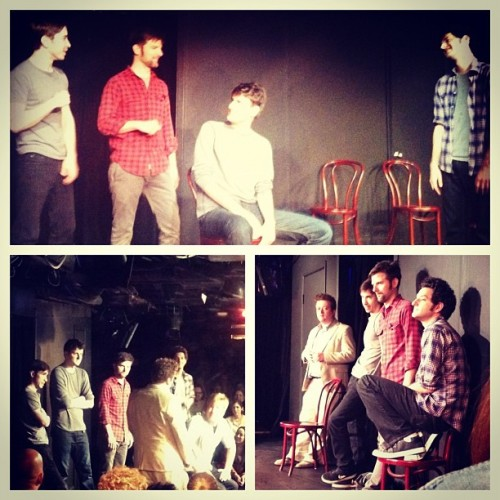 Ben Schwartz, Justin Long, Adam Scott, Zach Woods, Chad Carter, and Neil Casey did improv at UCBNY last night. And you missed it.  (via Schwartz on Instagram, ht @robbie_freeman)
