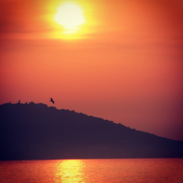 #Princess #Island #SunSet , #Turkey  (Taken with instagram)