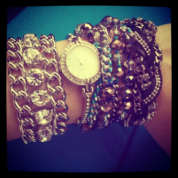 @chloeandisabel arm party #chloeandisabel  (Taken with instagram)