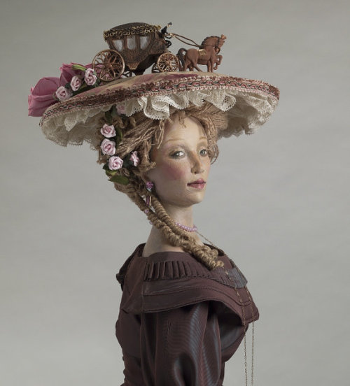 annadoll2001:  NANCY WILEY: Woman in Hat