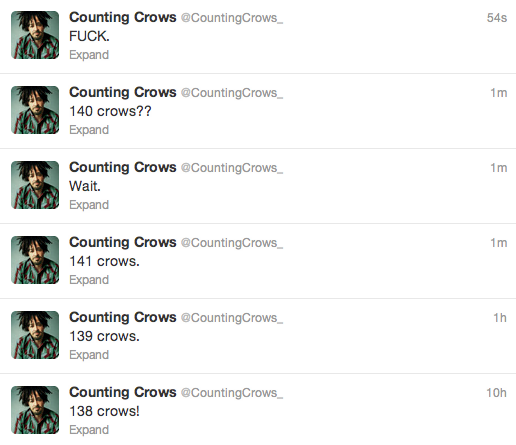 Counting Crows. h/t Andy Boyle