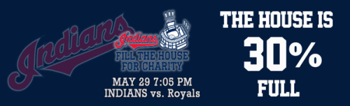 Want to help us Fill the House & cheer on the Tribe? All the details are on the link below! Thank you!http://www.clevelandfoodbank.org/site/PageServer?pagename=FillTheHouse