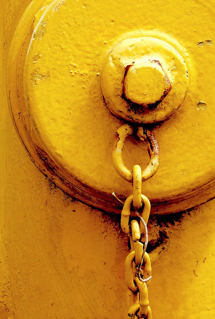 Yellow Hydrant by Bernie Led on Flickr.