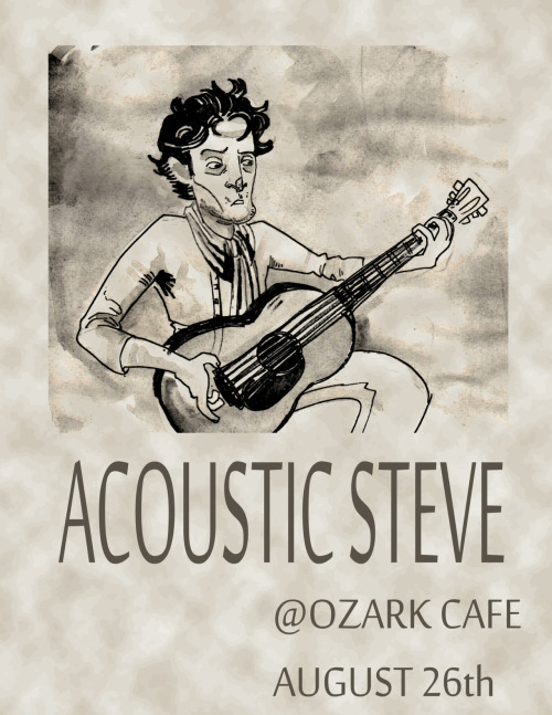 Background stuff. I'm pretty sure Acoustic Steve might be the worst musician ever, but he probably solves mysteries to make up for it.