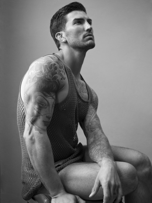 paulreitzphoto:  ADAM von ROTHFELDER (full version) | tank: Robert Geller | (c) PAUL REITZ | www.paulreitzphoto.com | Styled by GIORGIO AMMIRABILE | Adam is @ Q