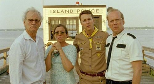 "It tickles me to no end that Wes Anderson's latest, Moonrise Kingdom, is being met with overwhelming critical success. Anderson nearly always has his critical detractors - ""too much artifice!"" ""too naive and/or twee!"" ""I don't get it because I'm a dumb critic!"" - but this time around even most of them seem to be giving him favorable reviews. 98% at Rotten Tomatoes! Don't forget: it opens in limited release TOMORROW."