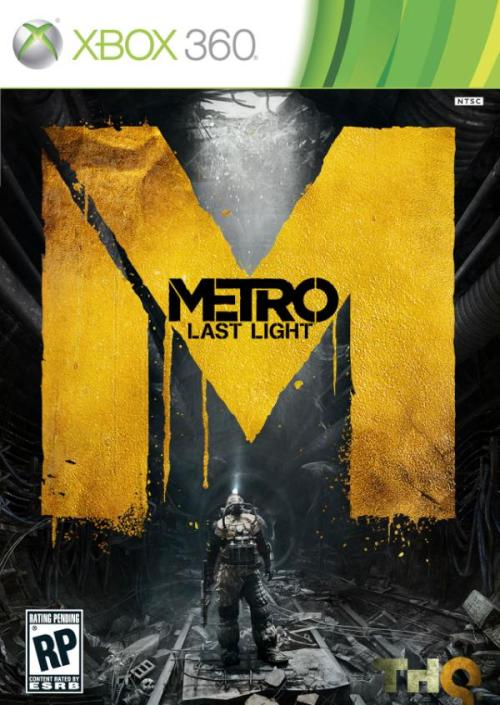 Metro: Last Light box art. Looks so bad ass. Hyping this game up, 2013 can't come soon enough.