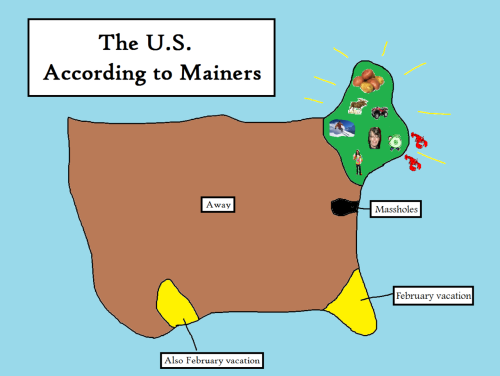 The U.S. According To Mainers