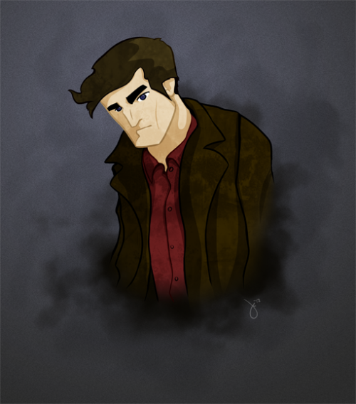 Here's a quick piece I did this morning. Mal from Firefly.