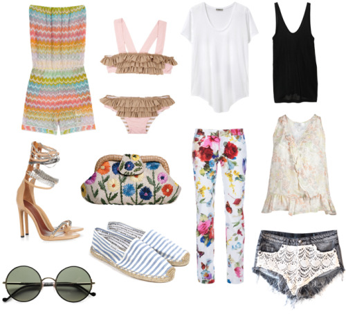 Collage-o-lage: beach clothez this way. http://bit.ly/MtJi4h