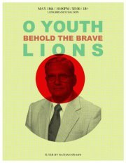 LIONS and O YOUTH at the LONGBRANCH this FRIDAY