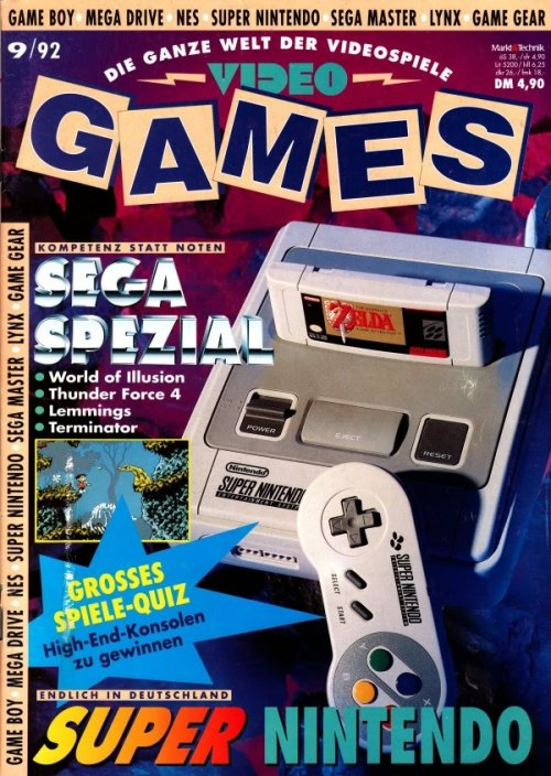 Video Games magazine.