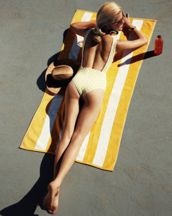 Sun your buns to your heart's desire, but don't forget the SPF!Ashley Smith for The Sunday Telegraph