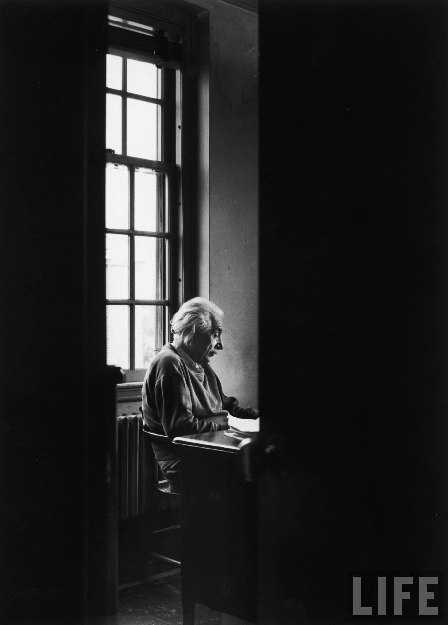"Dear Einstein, Do Scientists Pray?  A young girl named Phyllis wrote to Einstein in 1936 on behalf of her Sunday School class, asking if scientists pray. He wrote her back. An excerpt from his response (read the whole letter here):  … everyone who is seriously involved in the pursuit of science becomes convinced that some spirit is manifest in the laws of the universe, one that is vastly superior to that of man. In this way the pursuit of science leads to a religious feeling of a special sort, which is surely quite different from the religiosity of someone more naive.   To me, he is capturing that combined, intangible feeling of curiosity and discovery. I think he viewed the awareness that our world is ruled by natural laws as a constant ""spirit"" in itself, and one that he could access at will. Maybe not traditional religion, but an idea that I think we can all agree is worth exploring. (↬ Letters of Note)"