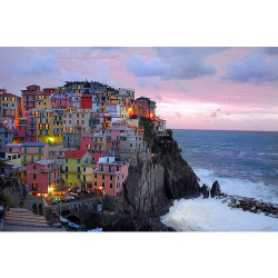 10 Enchanting Cities with Colorful Houses | Touropia; Manarola
