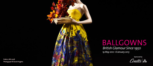 On our list of things to see this summer is the new Ballgowns exhibition on at the V&A. British Glamour since 1950… yes please! And theres bound to be some lace in there!