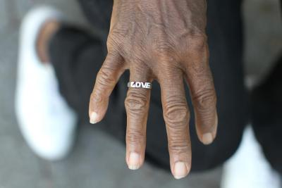 "humansofnewyork:  This hand belongs to an eighty year old woman. She was wearing a t-shirt that said: ""Mean People Suck."""