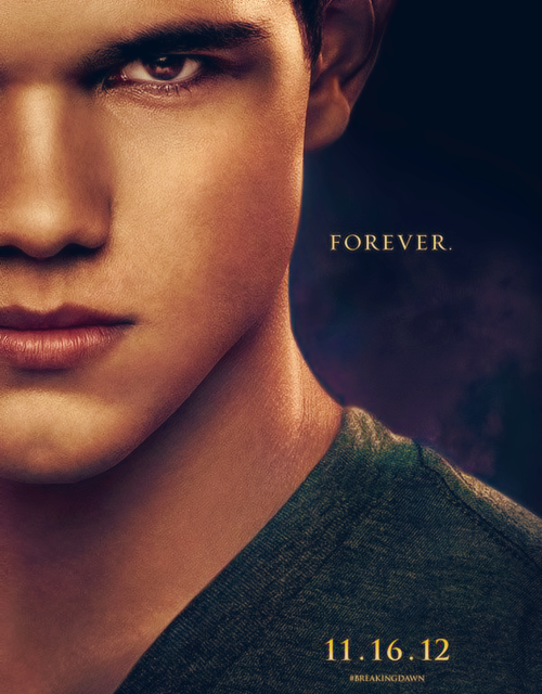 Jacob Black → Breaking Dawn Part 2 character poster