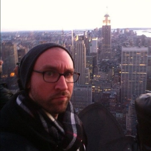At #Rockerfeller building, #newyork 2010. #tbt #throwbackthursday #cmj #newyork  (Taken with Instagram at Top Of The Rock)