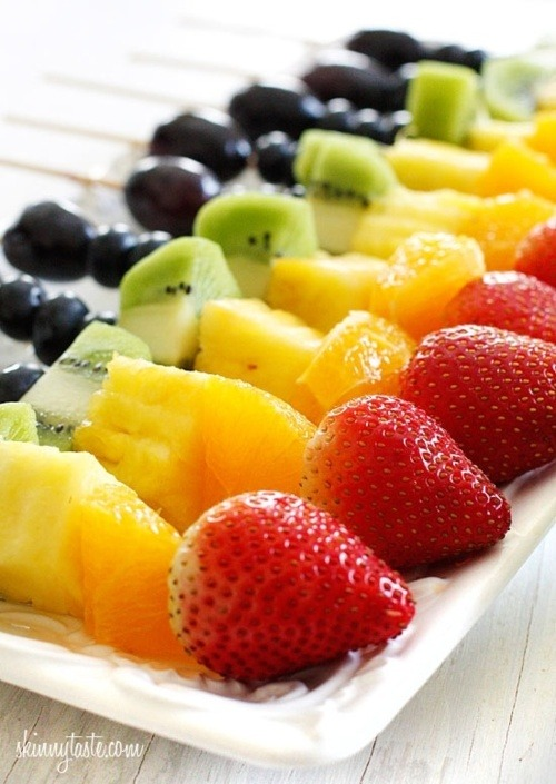 Here is a healthy meal! Don't you think? Do you love fruits?  - We DO! Fitness and Fashion for the perfect prom - Follow PromFit
