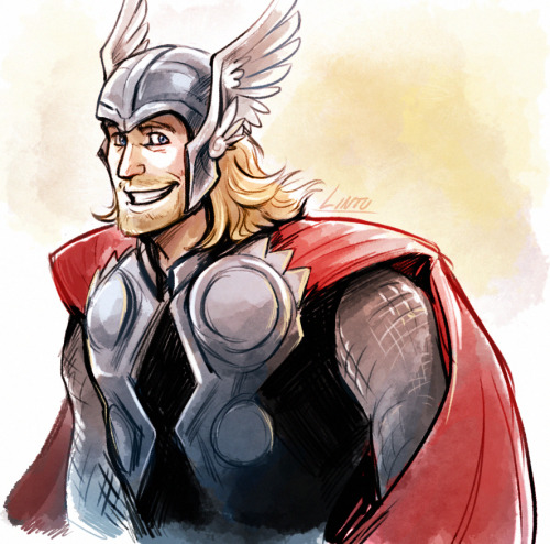 everyone should draw thor on thorsdays!! ouo