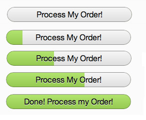 Coda 2 - The submit button of the order form doubles as a progress bar. /via chrishrmnn