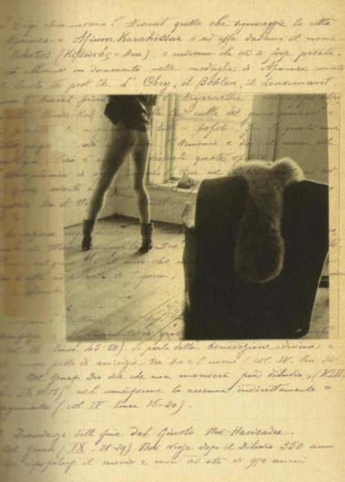 From Francesca Woodman's Notebook - Some Disordered Interior Geometries, 1981 Courtesy George and Betty Woodman © George and Betty Woodman