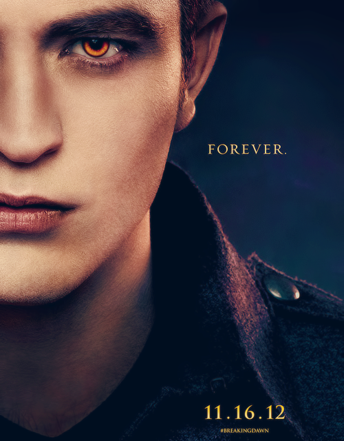 Edward Cullen → Breaking Dawn Part 2 character poster