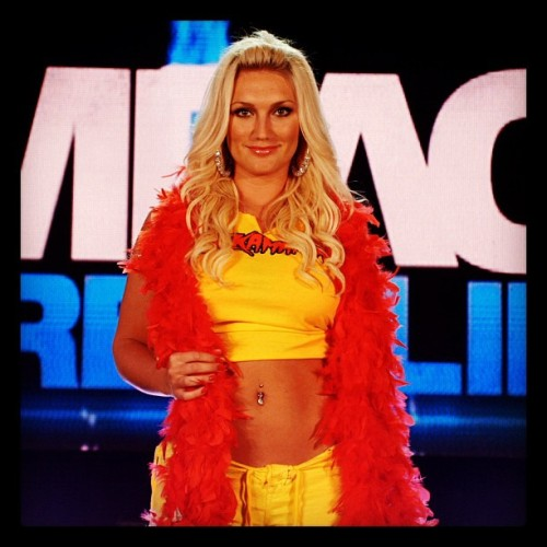 Next week on IMPACT, Brooke Hogan. LIVE.