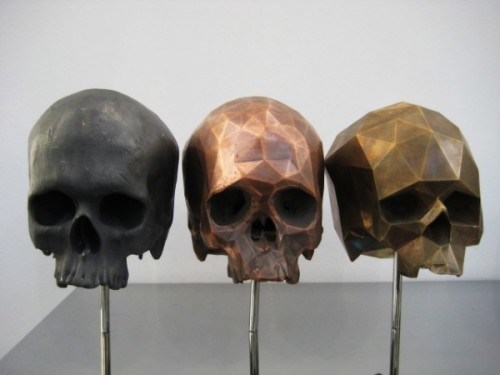 Tessellated Skulls of Matthew Day Jackson Reverse Evolution and the Digital Aesthetic