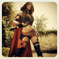 This #Magdalena #cosplay looks #pretty #cool #comic (tomada con Instagram en Pablinni's)