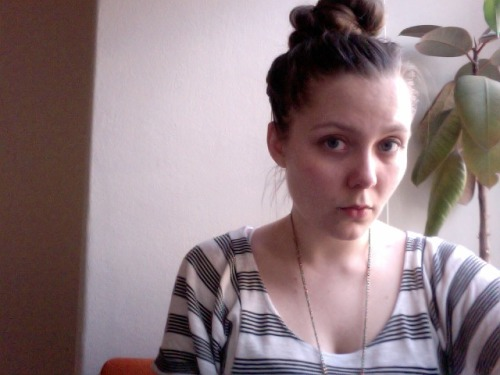 wearing a topknot, reading through invites to openings i never made it to because i was wrapped up in my own project, tying up all the ends of the curatorial bitchwork i neglected over the past few weeks (budget, legal considerations, reflection), wishing i could be outside. but, summer: soon!