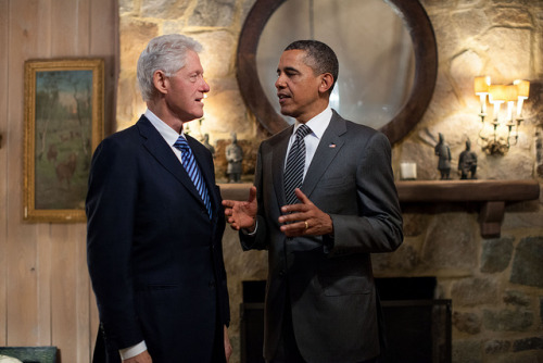 You, Bill, Barack, NBD.