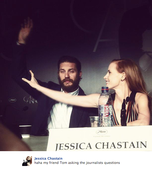 … when Jessica Chastain tried to be the boss of the boss.