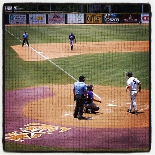 Back at the fields once again! :) #ILoveBaseball (Taken with instagram)