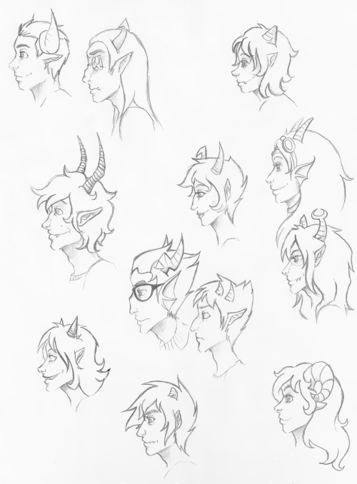 shubbabang:  I really really like drawing profiles if you haven't noticed. This is a pretty huge picture btw.