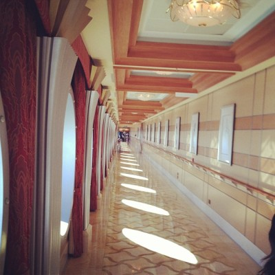 Long view.  (Taken with Instagram at Disney Dream)