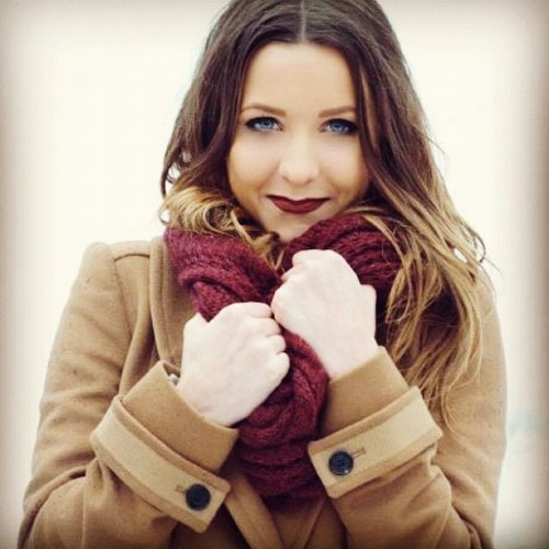 #snow #photography #girl #blonde #model  (Taken with instagram)