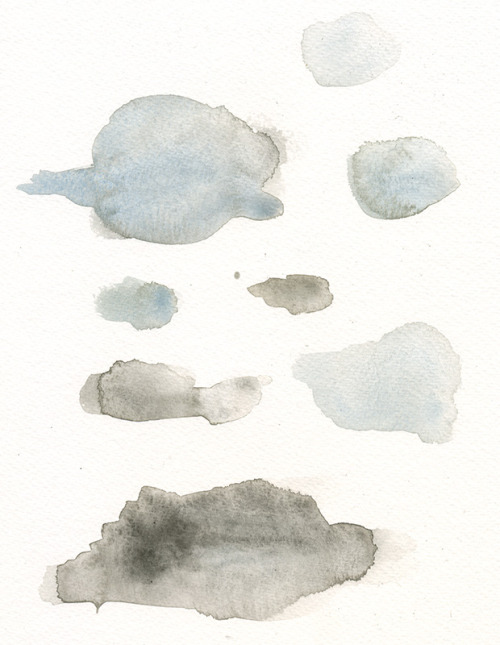 watercolor splotches for a project.  Original Article