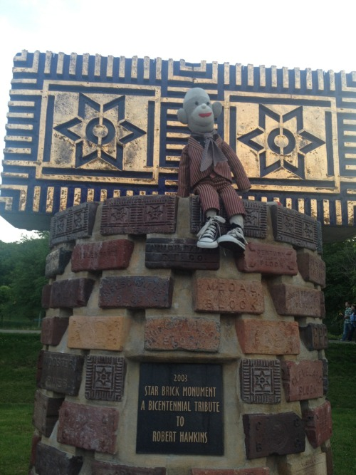 Visiting the home of the Star Brick - Nelsonville, OH 5/19/12