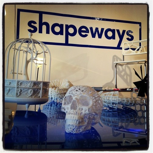 Images from Model Citizens NYC for New York Design Week (via Shapeways | Blog - Latest 3D Printing News & Innovation)