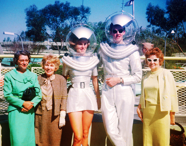 vintagegal: Tomorrowland at Disneyland 1961