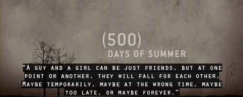 kohkaine:  500 days of summer