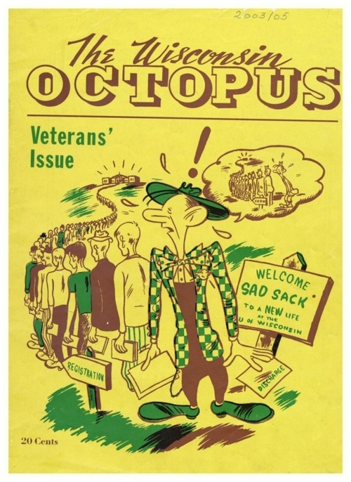 The Wisconsin Octopus, March 1946
